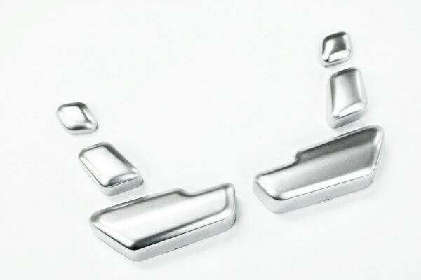 メルセデスベンツ Cクラス W204 クロームメッキ シートスライダー カバー スイッチ カバー ◆ 送料無料 ◆