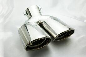 ホンダ ステップワゴン RG 1 RG 2 オーバル デュアル マフラー カッター
