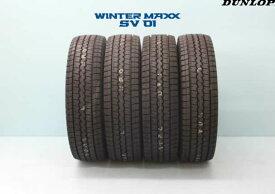 ☆ ダンロップ ウインター マックスSV01商用車用スタッドレスタイヤ 155/80R14 88/86N 4本セット