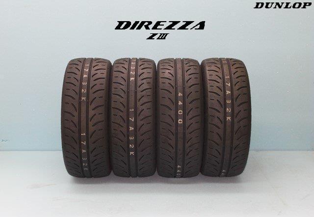 ☆ダンロップ DIREZZA ディレッツァ Z3 ZIII 225/40R18 88W 4本セット