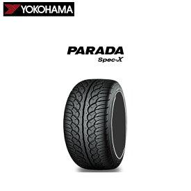 ヨコハマタイヤ パラダ Spec-X PA02 285/30R22 101V XL 285/30-22 夏 サマータイヤ 4 本 YOKOHAMA PARADA Spec-X PA02