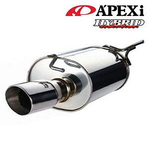 [メーカー取り寄せ]Apexi(アペックス)Hybrid Megaphone Evolution ハイブリッド メガホン エボリューションマフラー 品番:116AT073