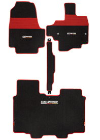 無限(MUGEN) スポーツマット ベンチシート車用 ブラック×レッド N-BOX/N-BOXカスタム 用 品番:08P15-XNH-K0S0-RD