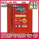 [送料無料][メーカー取り寄せ]RESPO (レスポ)HYBRID SPORTS 0w-20 4L/6缶セット 品番:REO-4LHSN