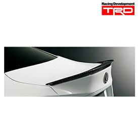 [送料無料][メーカー取り寄せ] TRD リヤスポイラー(カーボン製・クリア塗装仕上げ)品番:MS342-24001