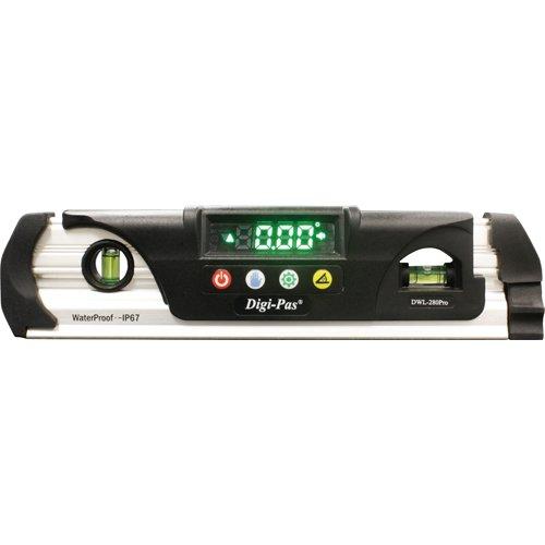 Digi-Pas デジタル水準器 水平器 角度計 傾斜計 防水型 DWL280Pro 0.05度 8887726110310 skc-003239