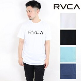 RVCA ルーカ プリント Tシャツ T-shirts RVCA S/S 2019 半袖 ビッグロゴ ティーシャツ サーフ おしゃれ かわいい 西海岸 カリフォルニア カップルコーデ リンクコーデ