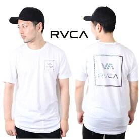 RVCA ルーカ プリント Tシャツ T-shirts RVCA S/S 2019 半袖 ビッグロゴ ティーシャツ サーフ おしゃれ かわいい 西海岸 ルカ カップルコーデ リンクコーデ