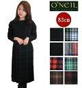 【予約10月上旬入荷予定】O'NEIL OF DUBLIN オニールオブダブリン ロング スカート ロング丈 ラップスカート 83cm ウール レディース 5083wp キルト 巻きスカート