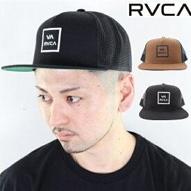 RVCA ルーカ ルカ メッシュキャップ 平ツバ CAP 帽子ALL THE WAY TRUCKER CAP スナップバック ベースボールキャップ 男女兼用 ユニセックス メンズ レディース