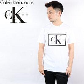 CALVIN KLEIN JEANS Tシャツ カルバンクライン ジーンズ 20SS 半袖 メンズ レディース モノグラム ロゴ ティー MONOGRAM LOGO CK ブランド おしゃれ トップス ティーシャツ メッシュ素材