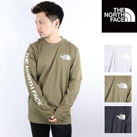 THE NORTH FACE ザ ノースフェイス 海外限定モデル ロンT 長袖 Tシャツ メンズ レディース ロゴ Sweat 2020ss 20SS カップルコーデ リンクコーデ ザノースフェイス