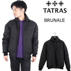 タトラス TATRAS メンズ 2020AW ブルゾン ジャケット ダウンジャケット BRUNALE ブラック ウール フード付き ダウン 正規品 防寒性 MTLA20A4101-D