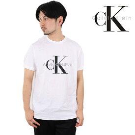 CALVIN KLEIN JEANS Tシャツ カルバンクライン ジーンズ 半袖 メンズ レディース モノグラム ロゴ ティー MONOGRAM LOGO CK ブランド おしゃれ トップス ティーシャツ