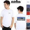 パタゴニアPATAGONIATシャツP-6LOGORESPONSIBILI-TEEWHIWHITEBLkBlack正規品TSHIRTS