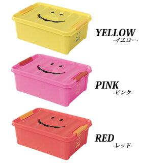おもちゃ箱スマイルボックスSサイズオモチャ箱おもちゃ収納片付け収納ケースおもちゃ収納収納BOXオモチャインテリアカラフル可愛い自発心カラーボックス積み重ねフタ付きスパイス