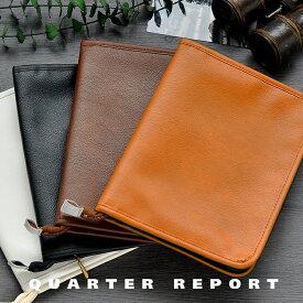 クォーターリポート QUARTER REPORT マルチケース スキャット 母子手帳ケース カードケース 通帳ケース 旅行 パスポートケース レシートケース ギフト 日本製 パスポート 通帳 ファスナー 母子手帳 合皮 おしゃれ