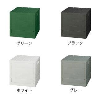 収納ボックスグリッドコンテナキューブ30cm幅折り畳みフタ付き日本製収納スツール収納ケーススタッキングおりたたみ蓋付き収納ボックスおしゃれおもちゃ箱コンテナチェアスツールアウトドアキャンプI'mD
