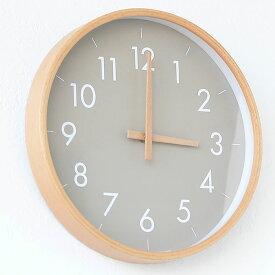 掛け時計 creer クレエ CAMPAS キャンパスウォールクロックL 壁掛け 時計 インテリア 木製 音がしない 木目 北欧 ナチュラル シンプル 寝室 リビング 丸形 クロック プレゼント ウッド
