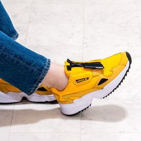 アディダス オリジナルス [adidas originals] FALCON ZIP W OUT LOUD ファルコン ジップ9A EE5113 オレンジ