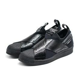 adidas originals[アディダス オリジナルス] SS SLIP ON W OUT LOUD スリッポン9S BD8055 ブラック/エナメル