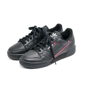 adidas originals[アディダス オリジナルス]CONTINENTAL 80 コンチネンタル9S G27707 ブラック/レッド