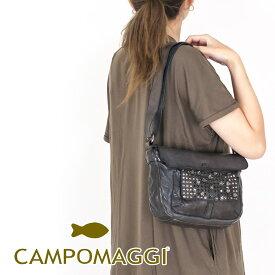 ◇CAMPOMAGGI [カンポマッジ]スタッズフラップポケットミニショルダーバッグ8A C009310ND C0501