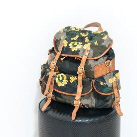 CAMPOMAGGI [カンポマッジ]フラワー刺繍デザインバックパック9S C010050ND X0662
