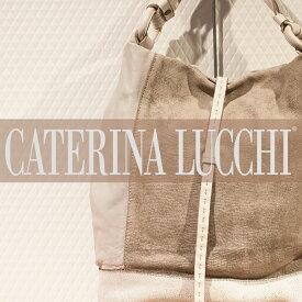CATERINA LUCCHI[カトリーナルッチ]クラッキングレザーコンビワンショルダーバッグ L5069