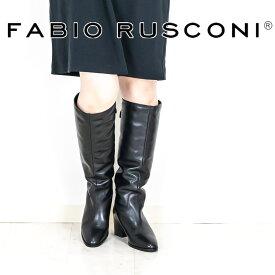 FABIO RUSCONI[ファビオ ルスコーニ]ベルトデザインボアロングブーツ8A SISSY515