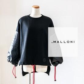 MALLONI [マローニ]ロングテールデザインプルオーバー9A 25006インポート / スウェット / 異素材 / モード / 個性派 /