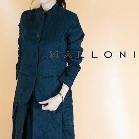 MALLONI[マローニ]スタンドカラーリネンジャケットM18E-50183