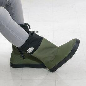 THE NORTH FACE [ノースフェイス]ベース キャンプ ブーティ ライト II(ユニセックス)20A NF52041 NK グリーン/ブラックBase Camp Bootie Lite IIスノーブーツ / 雪 / カジュアル / 冬靴 / 雪 /