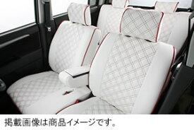 イレブン クラッツィオ キルティングタイプ シートカバーパジェロミニ H53A/H58A H14.09〜 4人乗 XR/VR/Navi Edition VR(XR)/EXCEED等2列目ヘッドレスト装備車