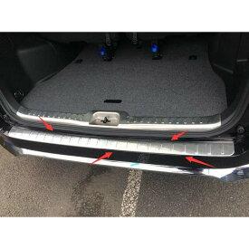 セレナ C27 パーツ カスタム e-POWER対応 日産 ハイウェイスター リア バンパー ステップ ガード ガーニッシュ 社外品 外装 新型 NISSAN SERENA