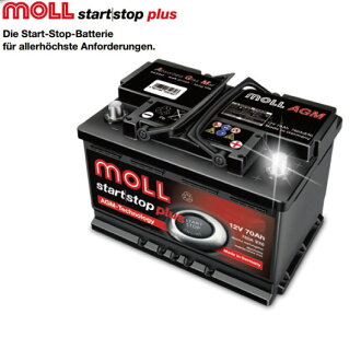Moll Agm Mollbattery Start With Mercedes Benz And B170 B200 B200t W245 S High Output Performance Battery Batterien 40000 Km