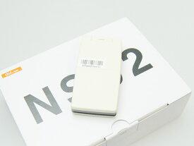 【送料無料!未使用品】au ケースのようなケータイ NS02 PTX01 アイボリー 本体 白ロム【日祝発送OK】【モバックス】