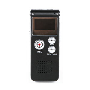 ボイスレコーダー ICレコーダー メモリ4GB 小型 コンパクト 長時間 録音 スピーカー内蔵 音楽再生 MP3対応 液晶付 USB接続