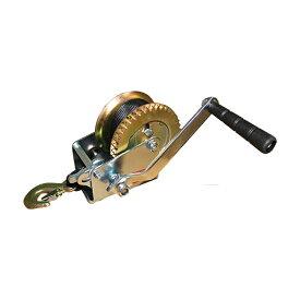 ハンドウインチ トレーラー用 荷積作業 ベルト式0.5t 【DIY・工具】【作業用品関連】