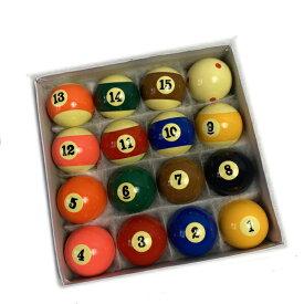 ビリヤード 球 玉 16 個 セット ローテーション ナインボール ビリヤードボール ボール キュー 予備 練習