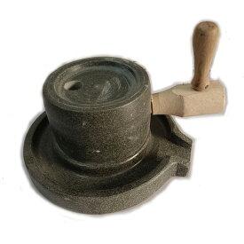 石臼 昔ながらの石臼 挽き臼 手打ち蕎麦 小麦 お茶 ひき臼 挽き臼 手挽き用 古民具 観賞用 調理器具 そば 香辛料