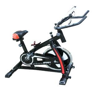 エアロバイク スピンバイク 健康器具 フィットネス ダイエット トレーニング エクササイズ 黒 マシン ストレス 発散 本格的 コンパクト