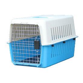カラー豊富! ペットキャリーケース Lサイズ ハードタイプ 中型犬 用 61 ×40 × 39cm 濃青 緑 ピンク オレンジ 青 ハードペットキャリー ペット 用品