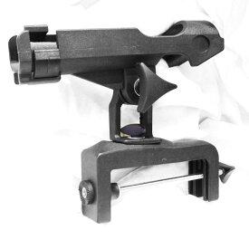 クランプ式 ロッドホルダー 2台セット ABS樹脂製