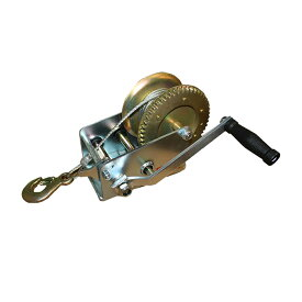 ハンドウインチ トレーラー 荷積作業 ワイヤー式1t ワイヤー式ウインチ1T 【DIY・工具】【作業用品関連】