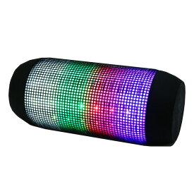Bluetooth対応 ポータブル ワイヤレス スピーカー LED マルチカラー 【ダンス アウトドア キャンプ ディスコ 釣り ミュージック】 【TV・オーディオ・カメラ用品】