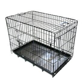 折畳み ペットケージ 中型犬用 76×47×55cm ネコ ねこ 猫小屋 犬 いぬ 犬小屋 フェンス 持ち運び キャットハウス Lサイズ 【ペットグッズ】