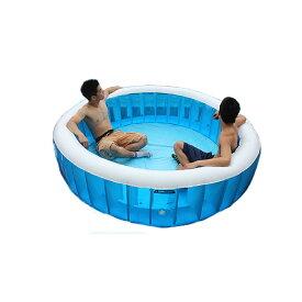 プール ビニールプール オーバルプール 中型 幅 148cm x 奥行き 100cm x 高さ 42cm 水あそび キッズプール レジャープール ファミリープール 家庭用プール 子供用プール