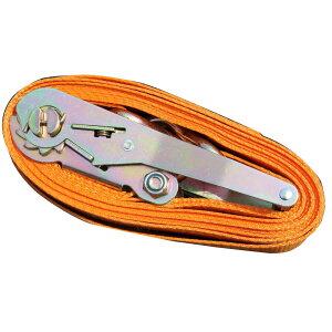 ラッシングベルト ラチェット式 タイダウンベルト 荷締 耐荷重 5t 長さ 5m 幅 50mm 荷締め機 バンド ベルト フック ロープ
