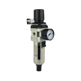 フルオート レギュレーター ルブリケーター 圧力 エアーフィルタ 圧力調整 自動排水 水抜き エア工具 コンプレッサー アクセサリー